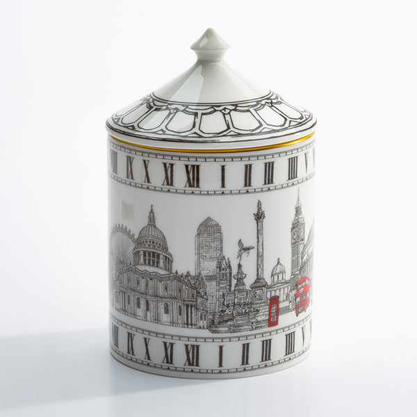 London Icons Lidded Candle