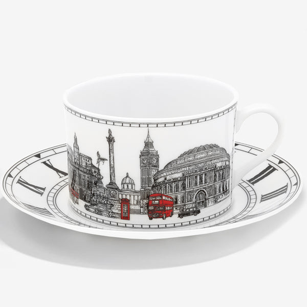 London Icons Teacup & Saucer