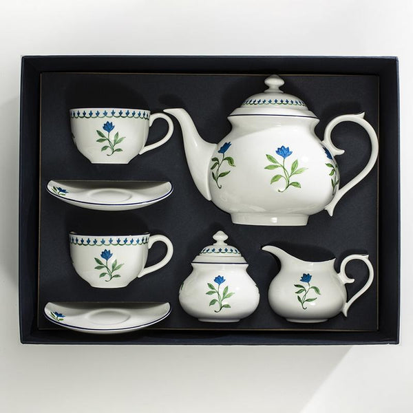 Nina Campbell Marguerite Tea for 2 Boxed Set