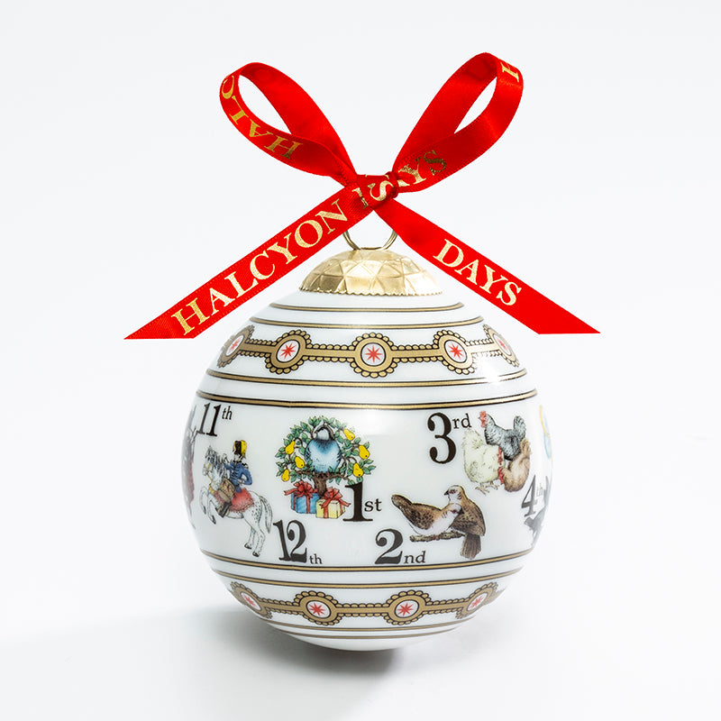The Twelve Days of Christmas Bauble - Only 1 Left