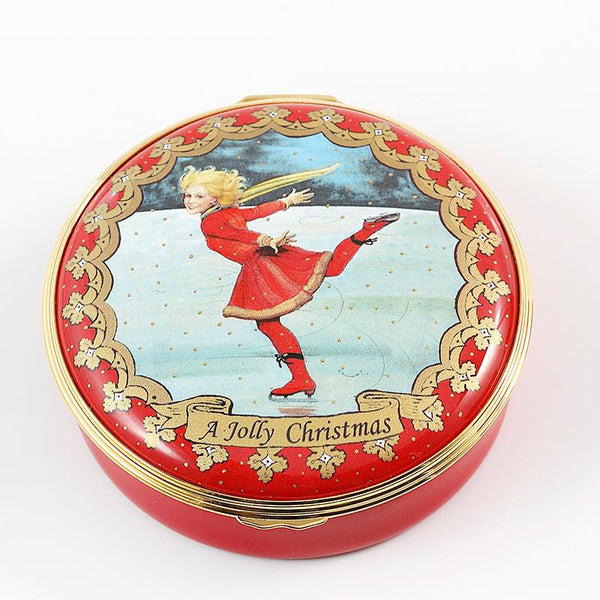 Christmas Ice Skater Box