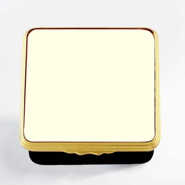 Blank Canvas Ivory & Black Gold Box