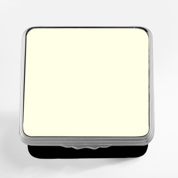 Blank Canvas Ivory & Black Palladium Box