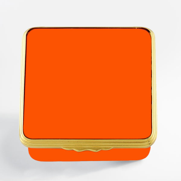 Blank Canvas Orange Gold Box