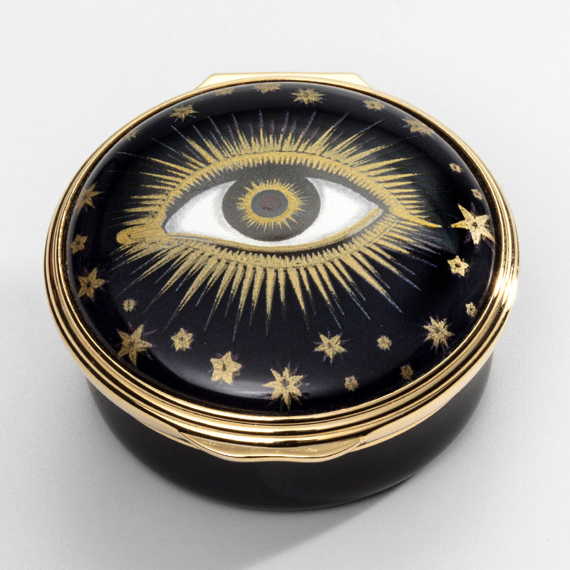 Evil Eye Enamel Box