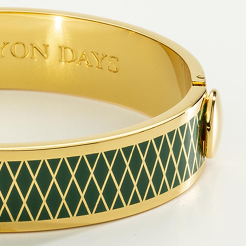 Parterre Emerald Bangle