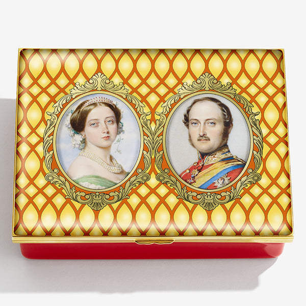 Queen Victoria & Prince Albert - Unchanging Love & Devotion Box