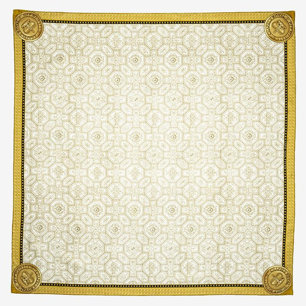 Chapel Royal Livery Ivory Silk Scarf