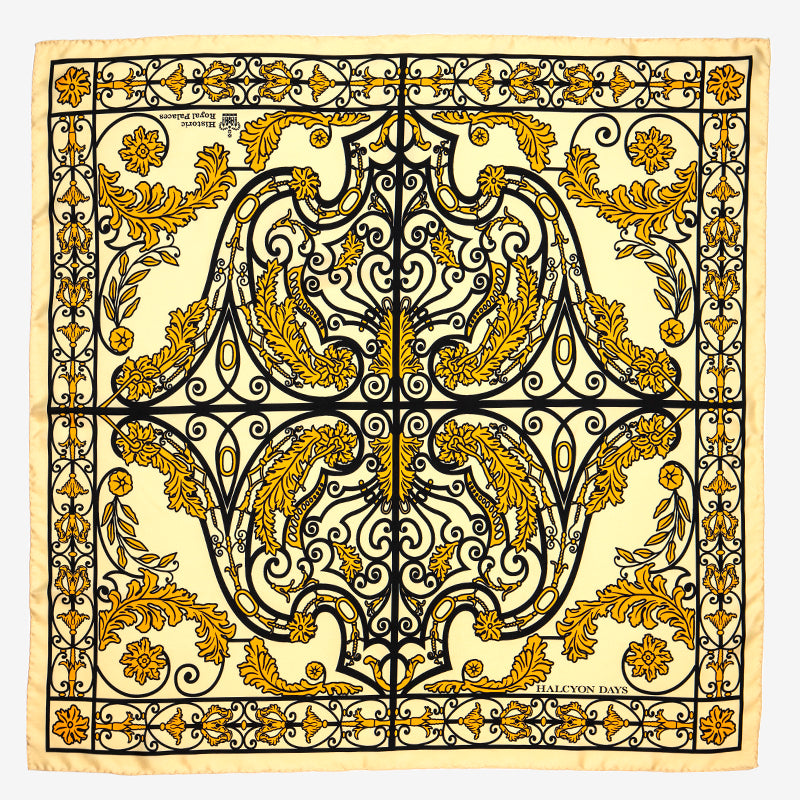 Kensington Palace Gates Silk Scarf