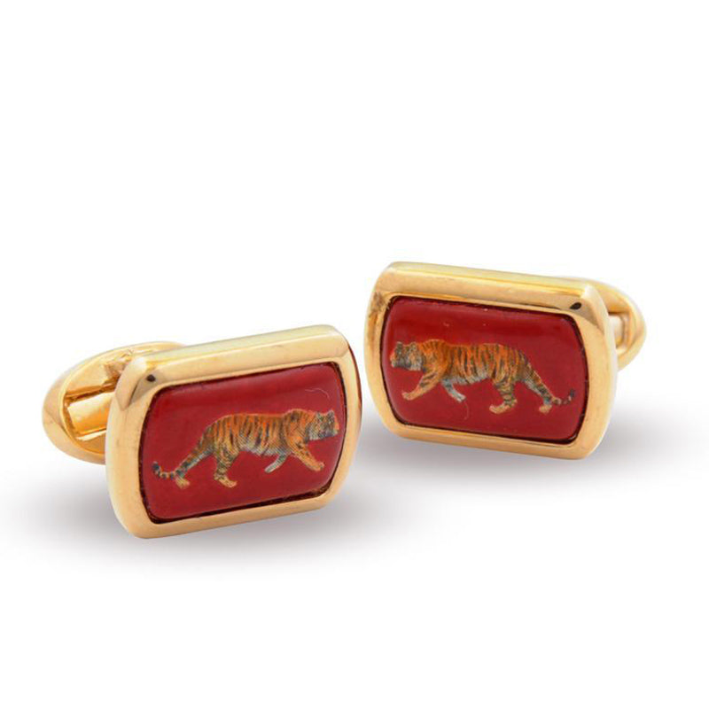 Tiger Red Cufflinks