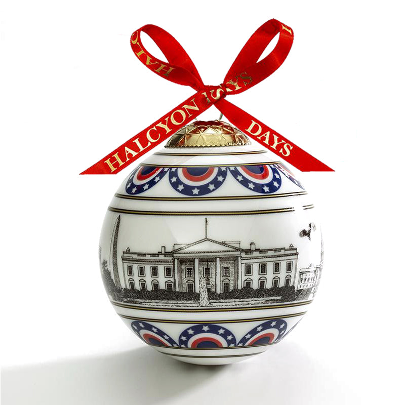 Washington Skyline Bauble