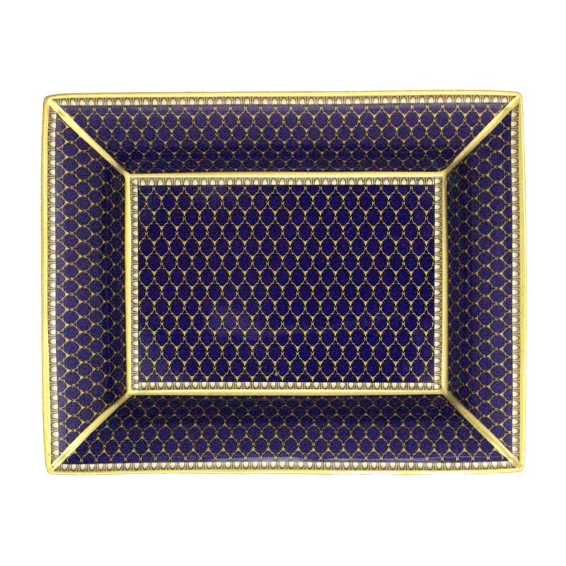 Antler Trellis Trinket Tray Midnight