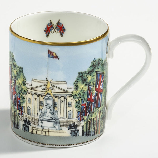 Buckingham Palace Down the Mall Mug