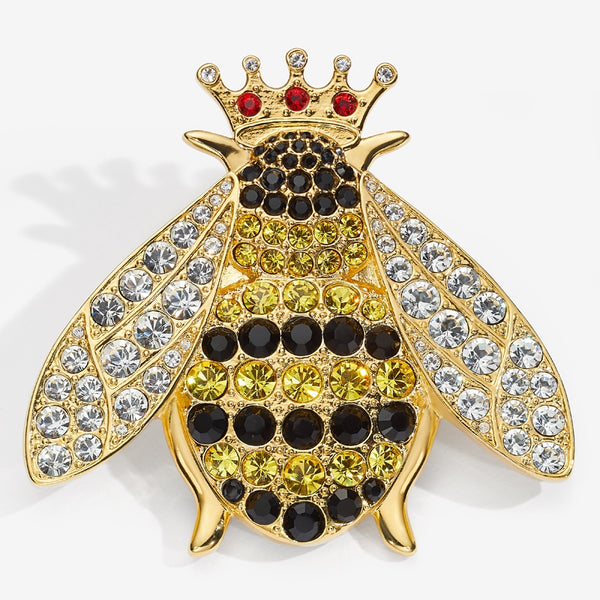 Sparkle Queen Bee Brooch