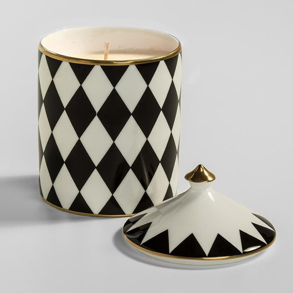 Parterre Black Lidded Candle