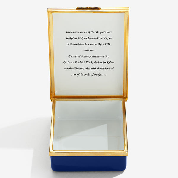 Sir Robert Walpole Commemorative Box
