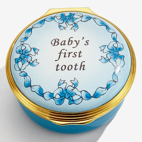 Baby's First Tooth Blue Box