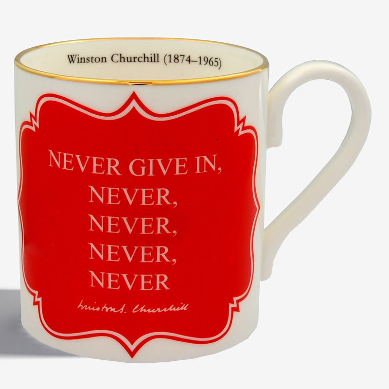 Never Give In... Mug
