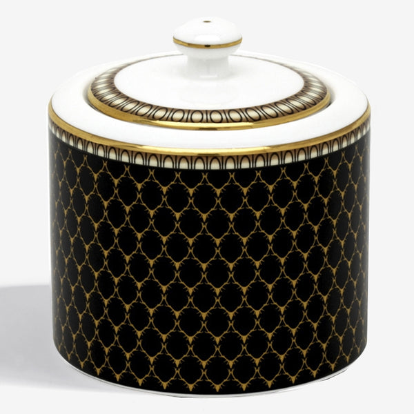 Antler Trellis Sugar Pot Black