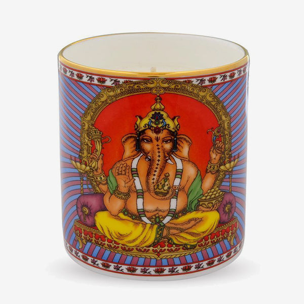 Ganesh Hyacinth Scented Filled Candle