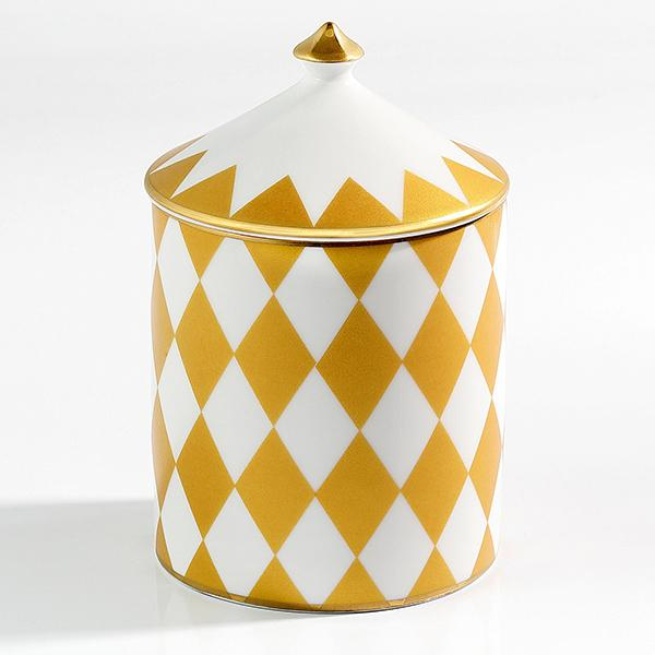 Parterre Gold Lidded Candle