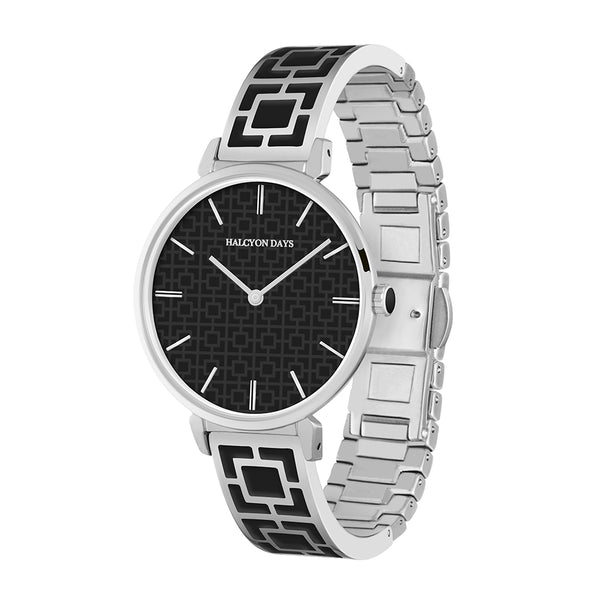 Maya Black & Palladium Watch