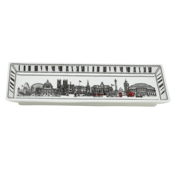 London Icons Rectangular Tray