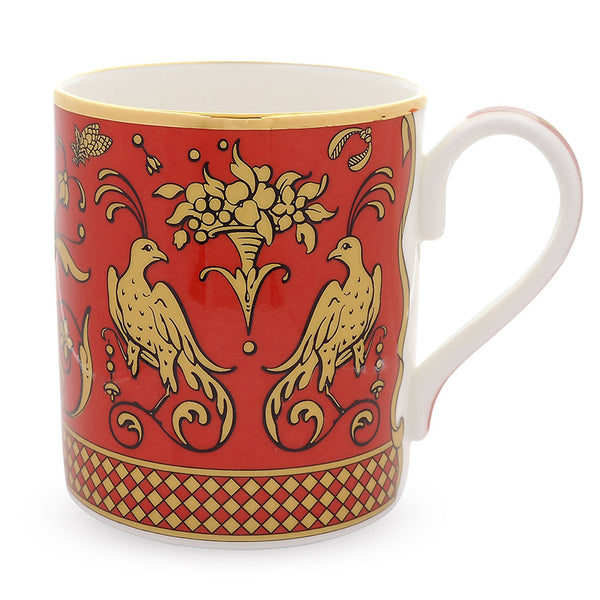 Jacobean Partridge Mug