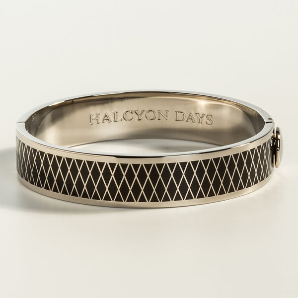 Parterre Black & Palladium Bangle