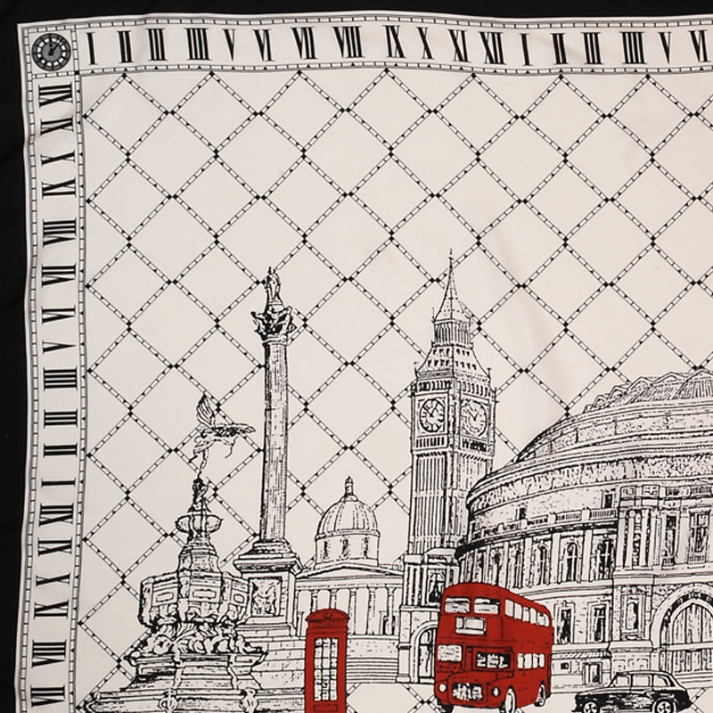 London Icons Silk Scarf