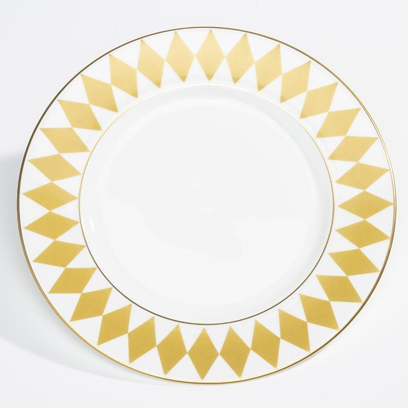 "Parterre Gold 8"" Plate"