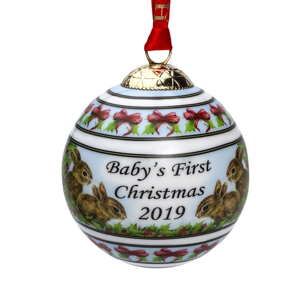 2019 Baby's First Christmas Bauble