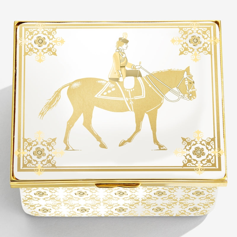 Her Majesty The Queen's Trooping the Colour Birthday Musical Box