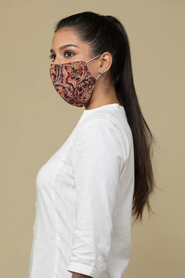 Printed Eco-friendly Reusable Fabric Mask – Pack of 5 – Assorted - Maybell Womens Fashion