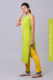 Lime Green Pure Relax Fit - Maybell Womens Fashion