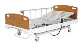 3-Function Ligth Brown ElectricBed