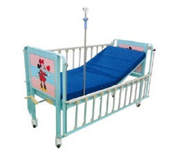 Manual children bed