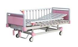 2-Pink Plus Function Manual Bed
