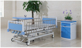 5-Light Function Blue Manual Bed