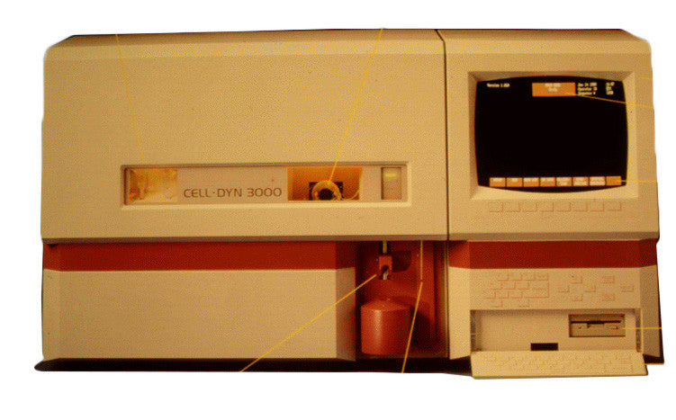 Abbott Cell Dyn 3000 Hematology Analyzer