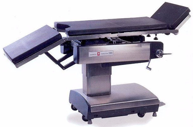 Amsco 2080 Manual Surgical Table