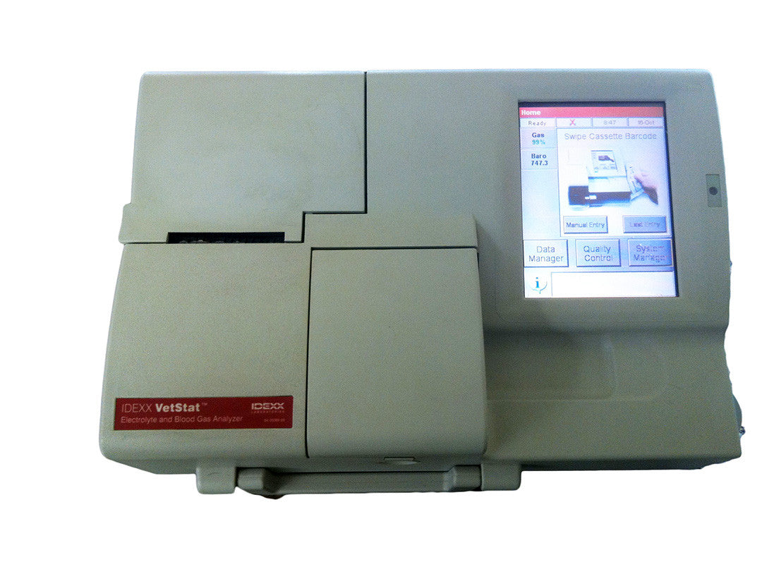 Idexx Vetstat Blood Gas Analyzer