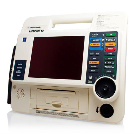 Medtronic Physio Control Lifepak 12 Biphasic Defibrillator