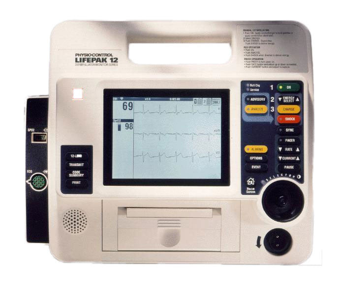 Medtronic Physio Control Lifepak 12 Monophasic Defibrillator