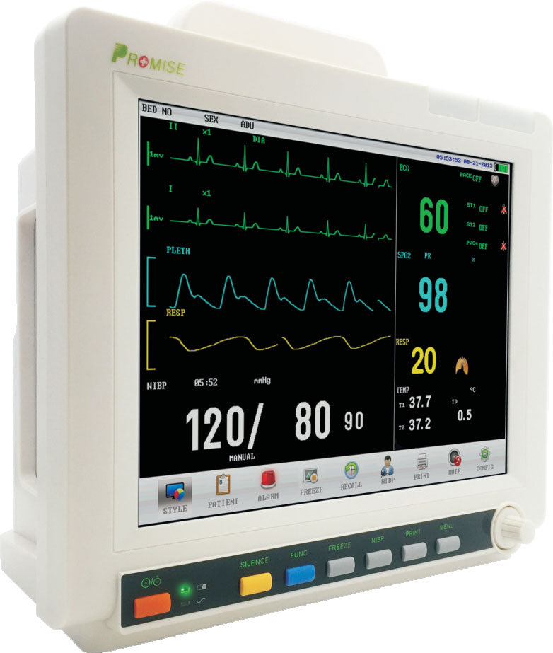 PRO-M12D Bedside Critical Care  Multi-parameter Patient Monitor