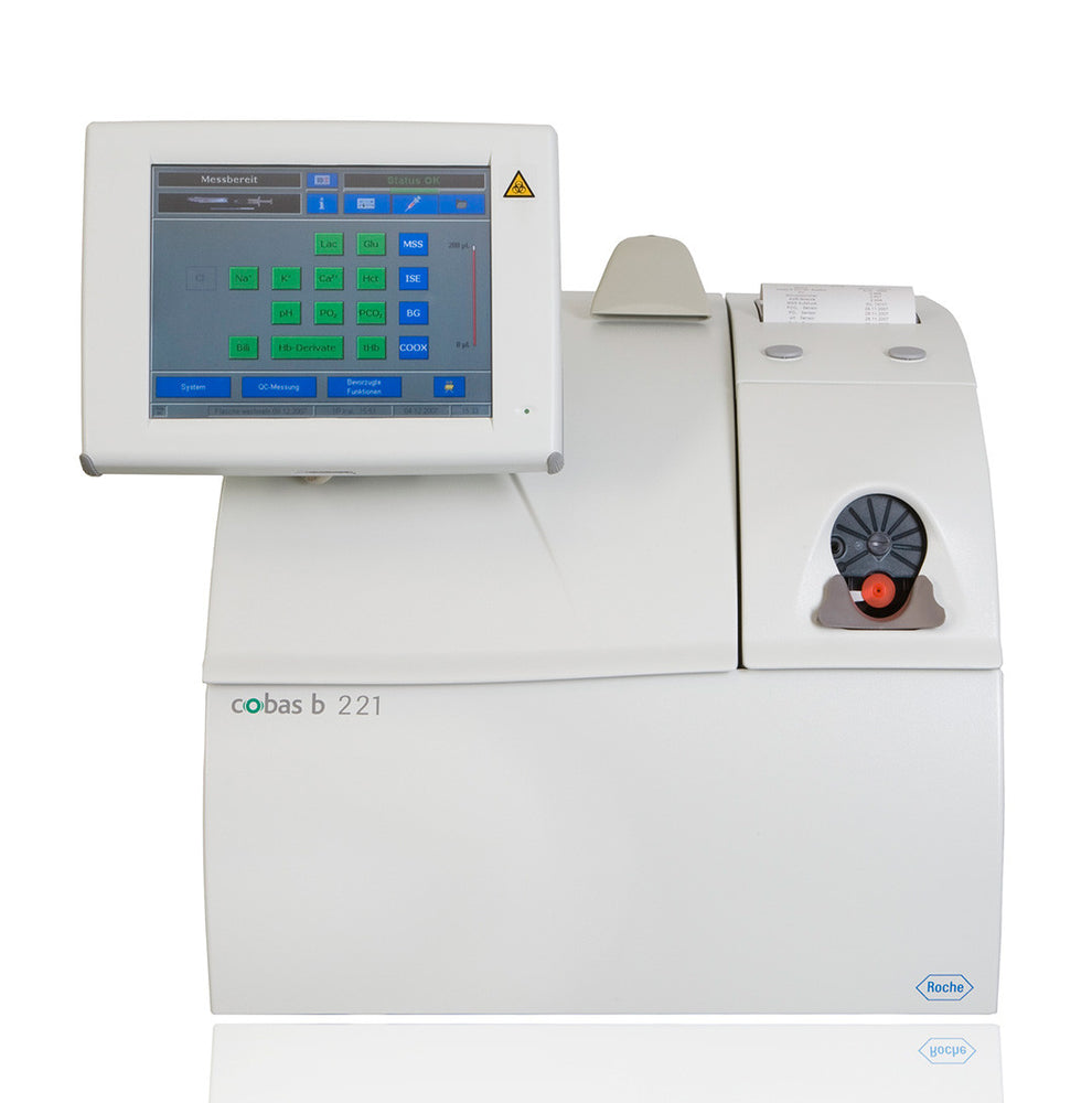 Roche Cobas B221 Blood Gas Analyzer