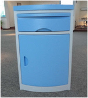 ABS BedsideBlue  Cabinet