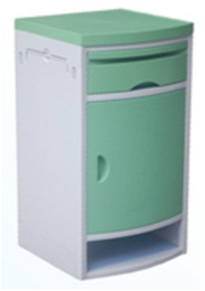ABS Bedside spec green or blue Cabinet