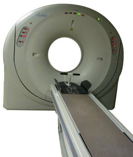Toshiba Aquilion 16 Slice CT Scanner