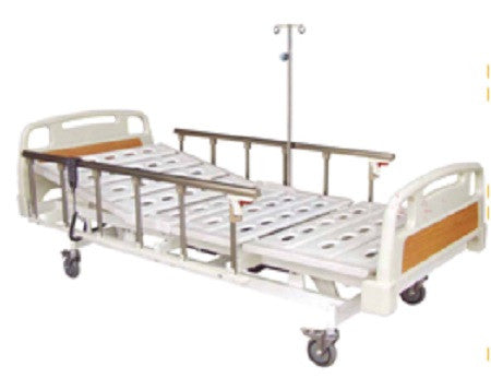5-Function Light Brown ElectricBed